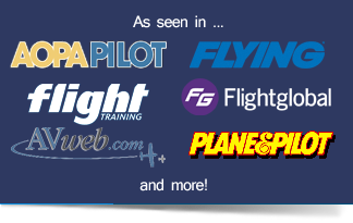 As Seen in Leading Aviation Publications